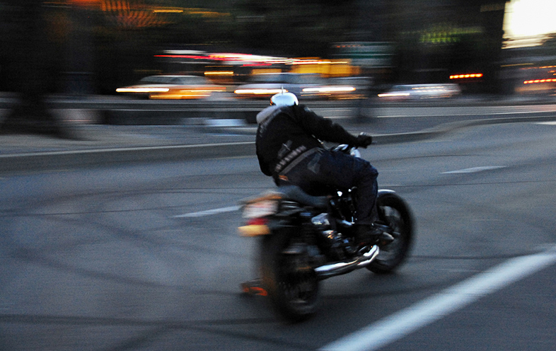 Sicherheit Motorradfahrer